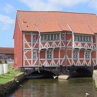 Grube in Wismar