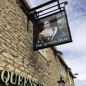 The Most recent Queens Head Sign