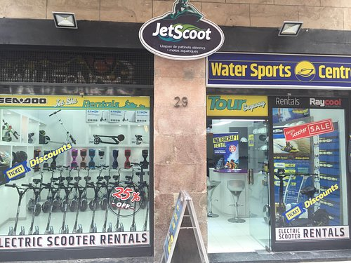 JetScoot - Alquiler patinetes eléctricos local Barcelona