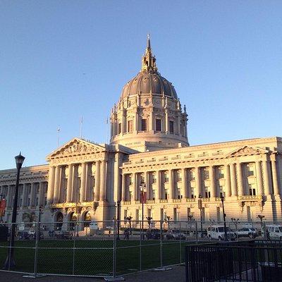 san Francisco City Hall. espectacular!,,