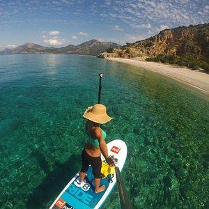 Amazing paddling around Kidrak beach - Oludeniz