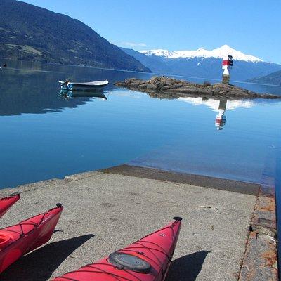 Kayak Fiordo Reloncavi Volcan Yates