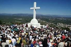 Il monte Križevac o monte della Croce