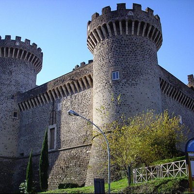 Rocca Pia: general view
