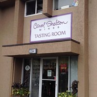 The front to the tasting room