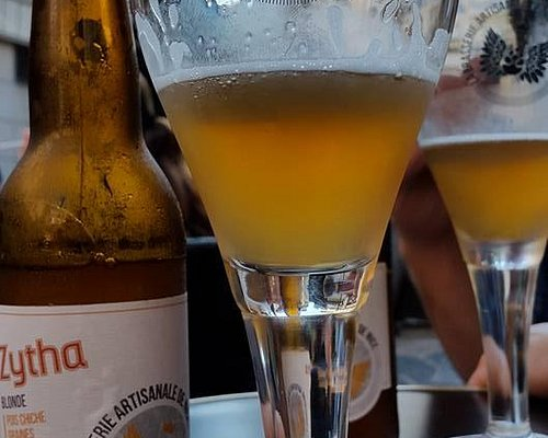 Zytha Bière de Nice aux pois chiche / Blonde beer Zytha made with chickpeas