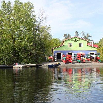 Nous sommes établis sur les berges de la rivière Haute-Saint-Charles depuis 1908!