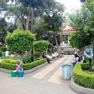 Plaza en Centro Histórico de Tlalpan