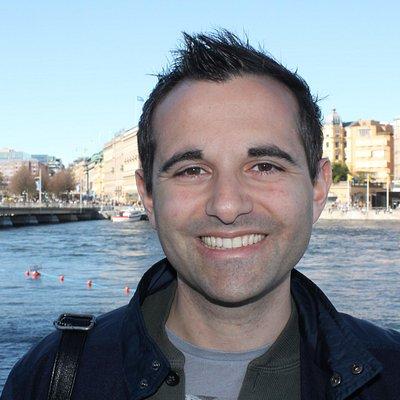 Roberto Di Giulio - guida autorizzata di Stoccolma in italiano