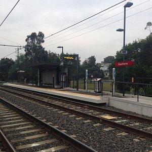 Hawthorn Light Rail Station - May 2015