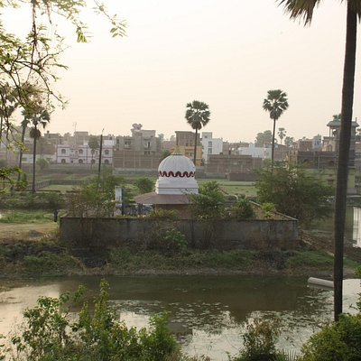 Sudarshan Jee Temple from Shree Sthulbhadra Sadhna sthal