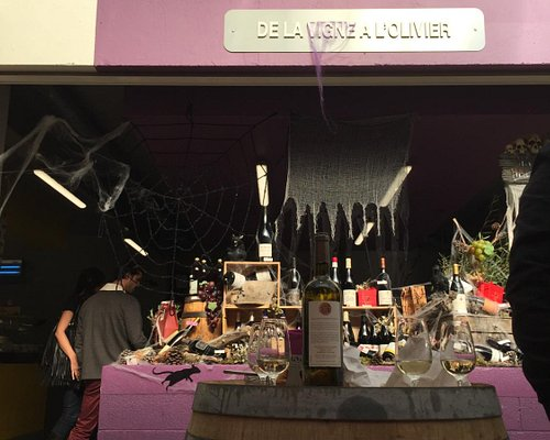le stand du vin :)