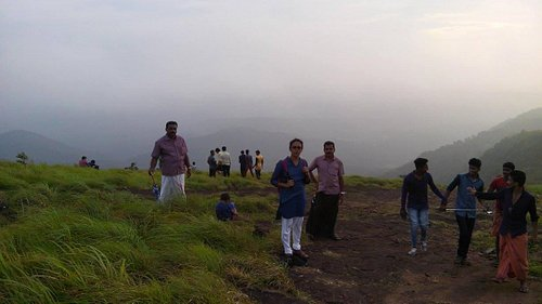 Sunset in Palakkayam Thattu