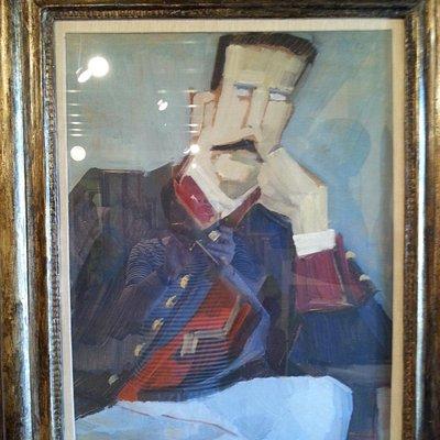 Mimì Quilici Buzzacchi:ritratto del nonno Garibaldino