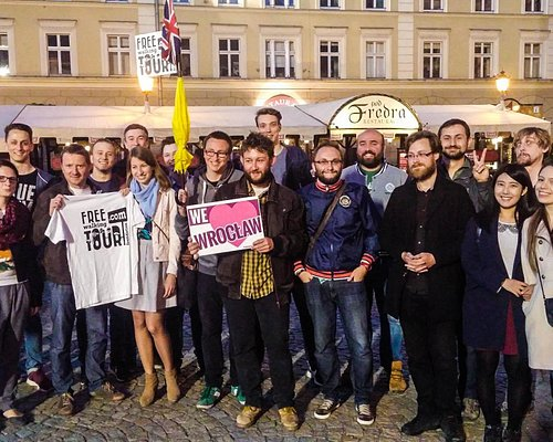 Meeting at the Fredro's Statue for Pub Crawl Wroclaw