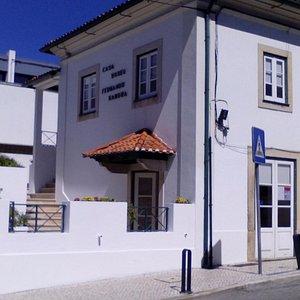 Casa Museu vista do exterior.