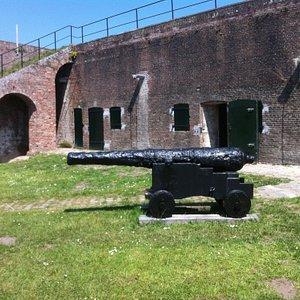 binnenplaats fort rammekens