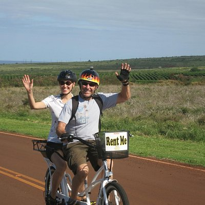 Kaanapali Maui coffee farm experience on a Tandem bike – Fun things to do on Maui