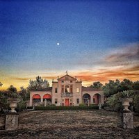 Villa Ca' Toga at Sunset