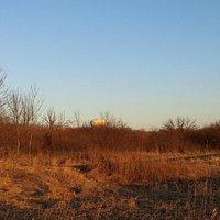 Trail overlooking Champlin