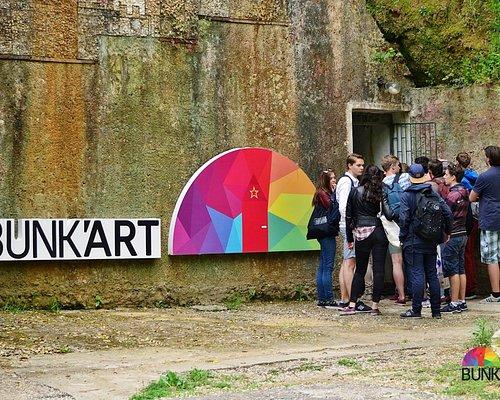 The Bunk'Art entrance