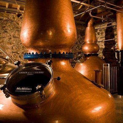 Lakes Distillery Copper Stills