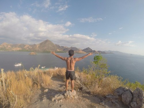 puncak bukit pulau kelor