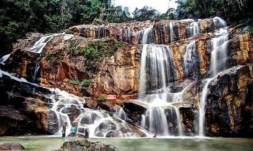 Water Fall In Sungai Lembing