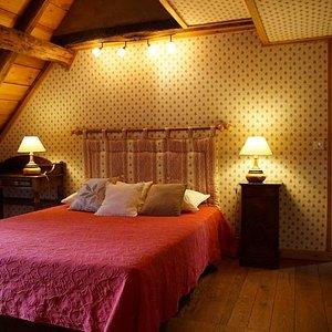 La chambre familiale Rustique
