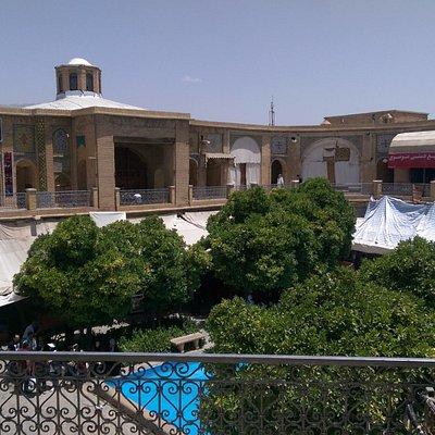 Saray-e-Moshir Courtyard view