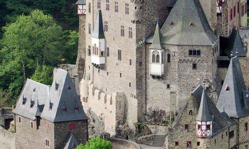 nearby Burg Eltz Castle
