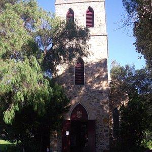 Front of St John church