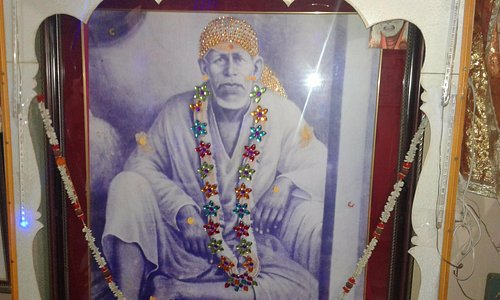 This is the original photo of Saibaba inside Mhalsapati's House