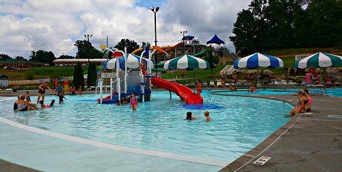 Playground at Cape Splash Family Aquatic Center