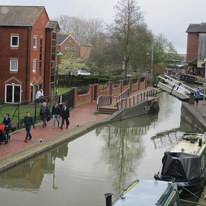 View from Banbury museum