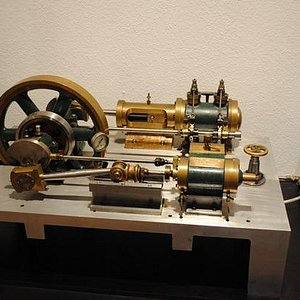 Dampfmaschinenmodel