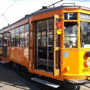 Another Muni electric cable car of their system