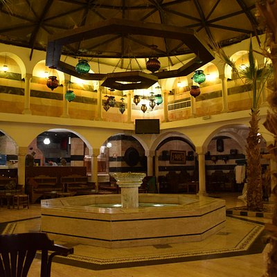 "The ""lobby"" of Al-Pasha Turkish bath"