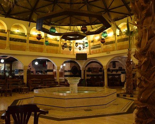 """The """"lobby"""" of Al-Pasha Turkish bath"""
