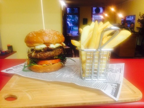 Finally Open! Come in to try our Wagyu burger!