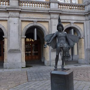 Papageno Statue in Bruges