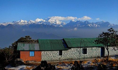 view of kanchenjunga from barsey