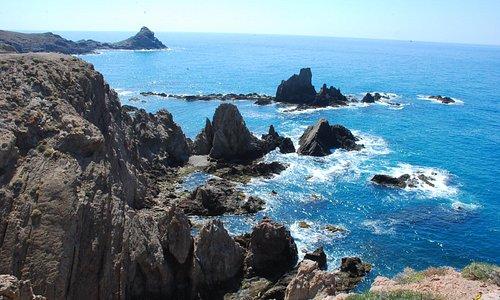 Arrecife de Las Sirenas.Cabo de Gata