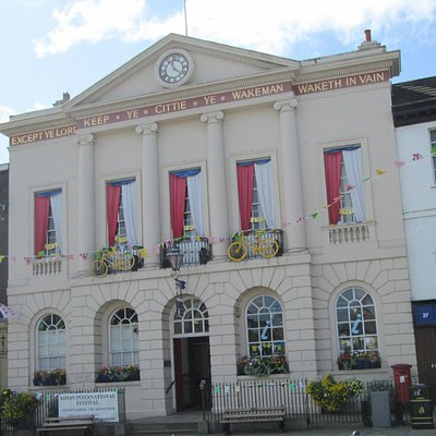 Ripon Tourist Info Office is situated in the Town Hall