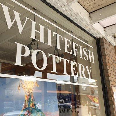 Whitefish pottery