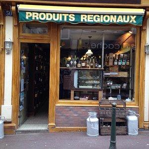 Petite boutique agréable
