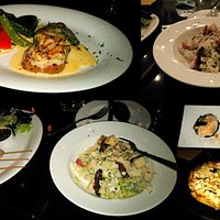 yummy food from starter to main cource