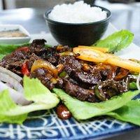 Vietnamese Garlic Meat