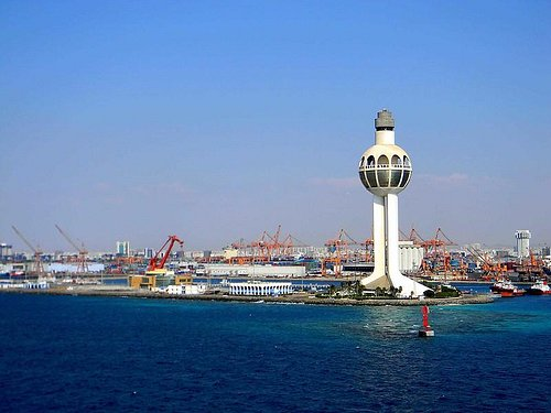 jeddah lighthouse height approximately 436-feet & it is the tallest in the world