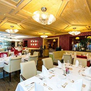 Restaurant at the Alpine Palace